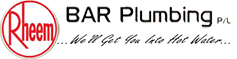 Bar Plumbing solar hot water