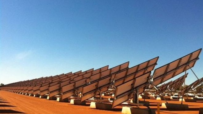 Northern Territory pushing for renewable energy.
