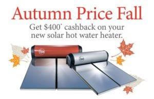 Autumn sale Solar Hot Water Bar Plumbing