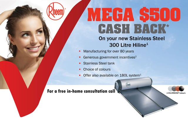 MEGA $500 CASH BACK