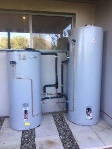 Rheem solar hot water system