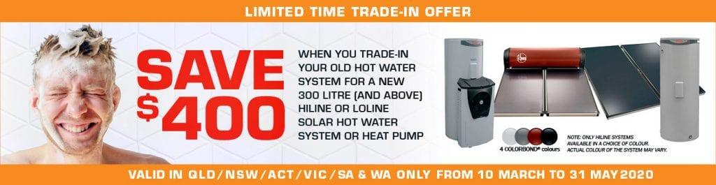 Rheem Solar Promotion