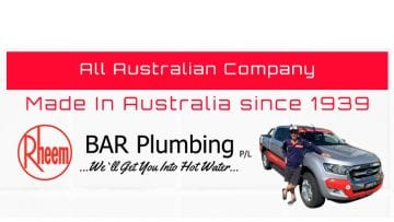 Rheem Australian Made Since 1939