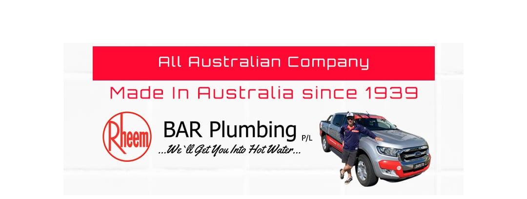 Rheem Australian Made Since 1939