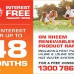 0% interest Free Solar Hot Water