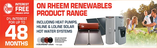 0% interest Free Solar Hot Water